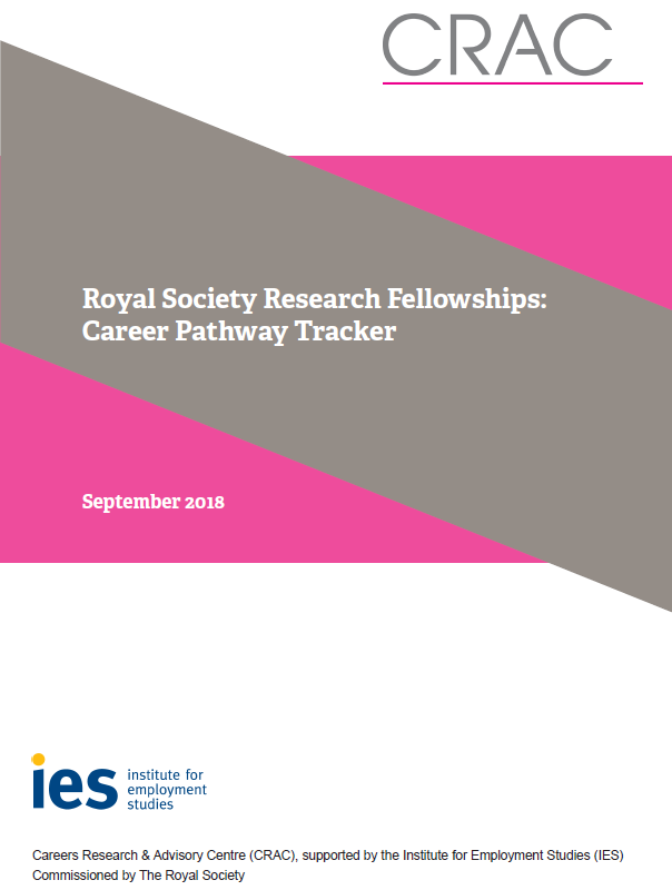 Tracking the careers of recipients of Royal Society Research Fellowships