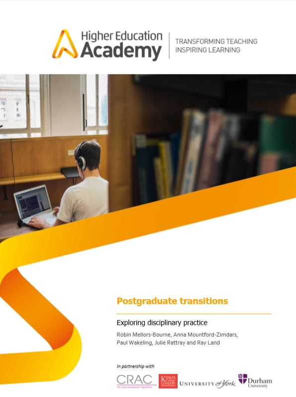 Postgraduate transitions: exploring disciplinary practice