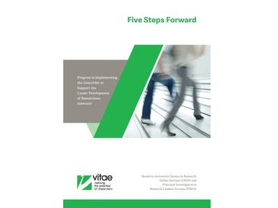 Link to Vitae Five Steps Forward report