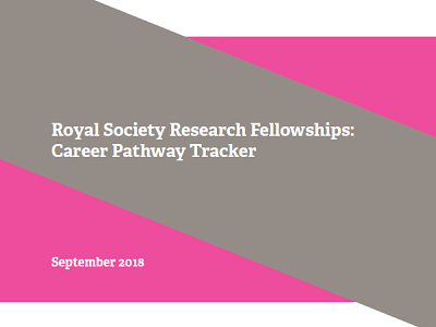 Image of CRAC  Career Tracker report for Royal Society